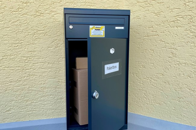 Unsere Paketbox